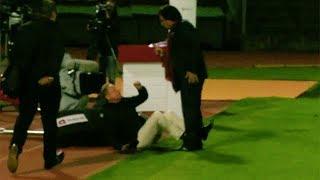 Constantin attackiert TV-Experte Rolf Fringer vor laufender Kamera!