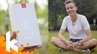 Endlich habe ich es! OnePlus 5 Unboxing & Erster Eindruck
