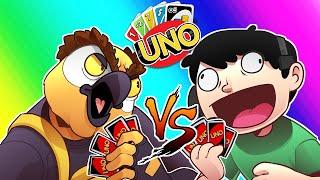 Uno Funny Moments - Vanoss & Panda VS Nogla & Ohmwrecker!