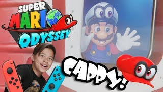 QUEST FOR CAPPY!!! Super Mario Odyssey Co-Op Mode!