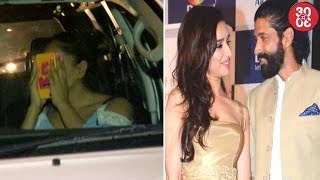 Bipasha Covers Her Face To Avoid Getting Snapped | Shraddha Miffed With Beau Farhan