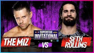 THE MIZ vs. SETH ROLLINS: Semis - WWE 2K18 Superstar Invitational Tournament