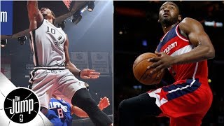 DeMar DeRozan and the best 360 layups in NBA history l The Jump