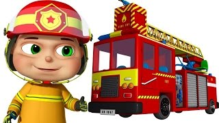 Zool Babies As Fire Fighters   Zool Babies Series   Cartoon Animation For Children