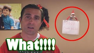 Elf on the Shelf Moving and Pranking Me on Camera Compilation
