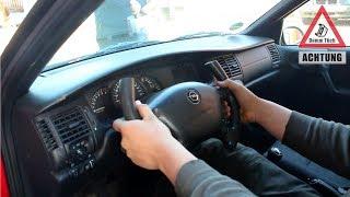 Sportlenkrad selbst bauen - Auto mit Pinsel lackieren   Dumm Tüch Opelix