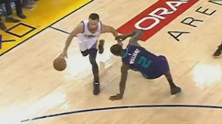 Stephen Curry Drops Marvin Williams! Splash Brothers Cheesing! Hornets vs Warriors