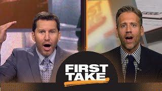 Max: Jets shouldn't trade Bridgewater until Darnold develops more | First Take | ESPN