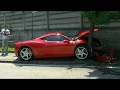 Ferrari 458 Italia crash into a tree!!mp3