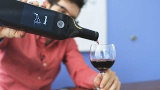 The gloriously dumb Wi-Fi wine bottle of the future
