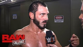 Austin Aries says there will be no escape for Neville at WWE Extreme Rules: Raw Fallout, May 29 2017