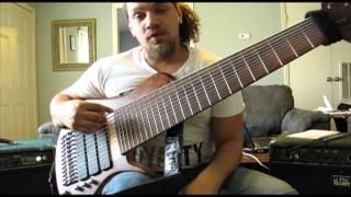 Scott Fernandez 12 String Bass (Sophia) WalkThrough and Demonstration