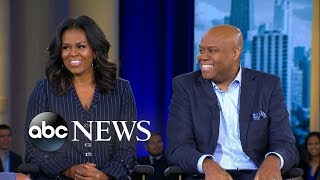 Michelle Obama says her brother is still their mother