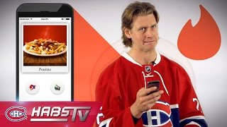 If Jeff Petry were on TINDER: Poutine, CFL + more
