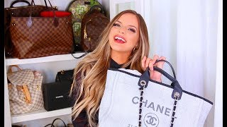 MY LUXURY HANDBAGS: CHANEL, LOUIS VUITTON, GUCCI, WHATS WORTH BUYING?? | Casey Holmes