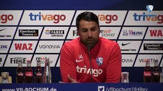Die Pressekonferenz vor der Partie Holstein Kiel - VfL Bochum 1848