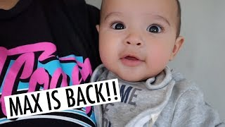 BABY MAX IS BACK WITH ANOTHER TAKE OVER!