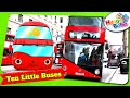 Ten Little Buses | 3D Animation And Lond...mp3