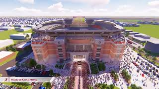 The Crimson Standard renderings for Alabama athletic facilities