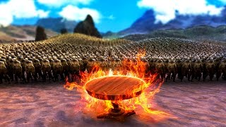 Ultimate Epic Battle Simulator | SUPER TISCH vs. ZOMBIE APOKALYPSE