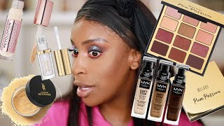 Drugstore Makeup is Coming For Our NECKS!!!! | Jackie Aina