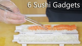 6 SUSHI GADGETS - to help you make great sushi :)