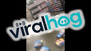 Simeon High School Students Trash Chicago Walmart || ViralHog