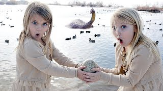 Found a HUGE MONSTER EGG at a Pond! Movie