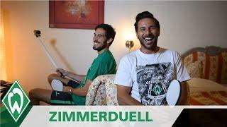 Zimmerduell: Santiago Garcia & Claudio Pizarro I SV Werder Bremen