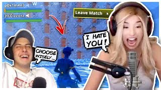 Pokimane RAGE QUITS Cizzorz NEW Death Maze **IMPOSSIBLE**