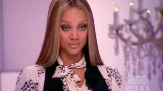 Celia Stands Up To Tyra HQ - America