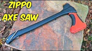 Testing Zippo Axe Saw
