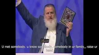 christian bursted in tears after Yusuf Estes answered his question! English subtitle