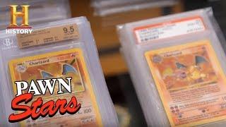 Pawn Stars: Stacks of Pristine 10 Charizard Pokemon Cards (Season 14) | History