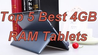 Top 5 Best 4 GB RAM Tablets/cheapest/chinese/best buy/2016/2017 (Dual OS/Windows/Android/Remix)