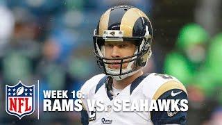 Johnny Hekker Shoves Cliff Avril & Then Cowers in Fear of Seahawks  | Rams vs. Seahawks | NFL