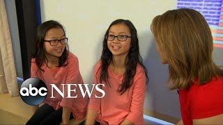 Twin Sisters Separated at Birth Reunite