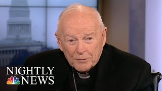 Cardinal McCarrick Suspended From Public Duties After Sex Abuse Allegation | NBC Nightly News