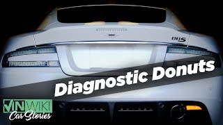 Diagnostic Donuts in an Aston Martin DBS