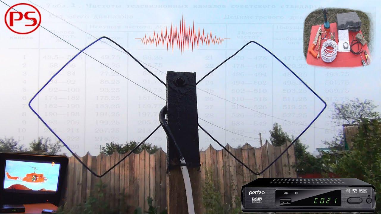 Как сделать на даче телевизор