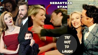Avengers: Infinity War Cast Continuously Flirting & Being Perverts - Try Not To Laugh 2018