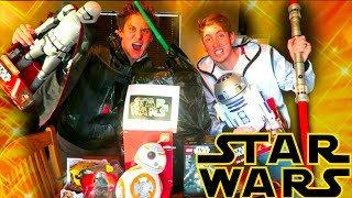 GIANT STAR WARS SURPRISE EGG OPENING toy review