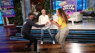 Lucky Ellen Audience Member Wins the Toughest Game on TV!