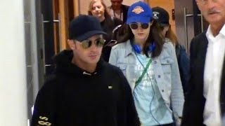 ZAC EFRON & ALEXANDRA DADDARIO ARRIVE IN SYDNEY FOR BAYWATCH