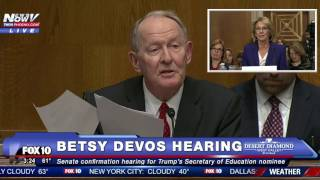FULL HEARING: Betsy Devos For Secretary of Education (FNN)