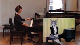 """【映像付コンサート】トムとジェリー「ピアノ・コンサート」 Tom and Jerry """"The Cat Concerto"""""""