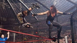 WWE - No Way Out 2008 ELIMINATION CHAMBER PART1