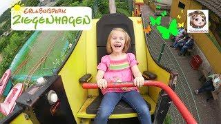 ERLEBNISPARK ZIEGENHAGEN - Hannah und ihr Cousin machen den Freizeitpark unsicher   Spezial