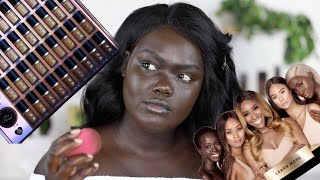 Jackie Aina X Too Faced Born This Way Foundation Review || Nyma Tang