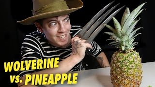 Wolverine vs. Pineapple | Knife Unboxing #2